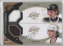 2010-11 SPx Winning Combos #WC-RG Wayne Gretzky Luc Robitaille Los Angeles Kings