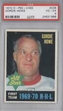 1970-71 O-Pee-Chee #238 Gordie Howe PSA 4 VG-EX Detroit Red Wings Hockey Card