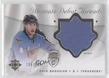 2008-09 Ultimate Collection Debut Threads #DT-ZB Zach Bogosian Atlanta Thrashers