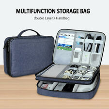 Electronic Storage Travel Organizer Hand Bag Cable USB Drive Power bank Case New
