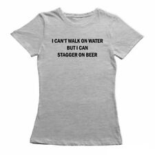 I CAN'T WALK ON WATER, FUNNY T SHIRTS FOR WOMEN, NERDY T-SHIRTS, GEEK TSHIRTS