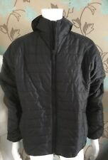 BARBOUR INTERNATIONAL LEVEL QUILTED BLACK JACKET SUZE LARGE AND EXTRA LARGE
