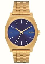 Nixon Time Teller All Gold / Blue Sunray One Size