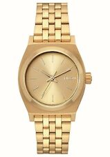 Nixon Medium Time Teller; Color: All Gold; Talla: One Size