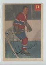 1954-55 Parkhurst #13.1 Paul Masnick (Base) Montreal Canadiens Hockey Card
