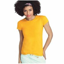 Fruit Of The Loom Entallado Sofspun Camiseta - Disponible en 10 Colores