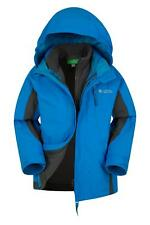 Mountain Warehouse Chaqueta impermeable 3 en 1 Cannonball para niño