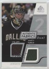 2008 SP Game Used Edition Authentic Fabrics Dual #AF-MT Marty Turco Dallas Stars