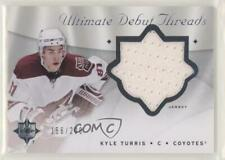 2008-09 Ultimate Collection Debut Threads DT-KT Kyle Turris Phoenix Coyotes Card
