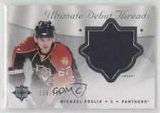 2008-09 Ultimate Collection Debut Threads #DT-FR Michael Frolik Florida Panthers
