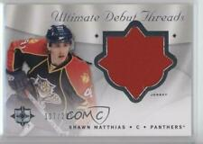 2008-09 Ultimate Collection Debut Threads #DT-MA Shawn Matthias Florida Panthers