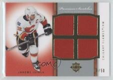 2007-08 Ultimate Collection Premium Swatches #PS-JI Jarome Iginla Calgary Flames