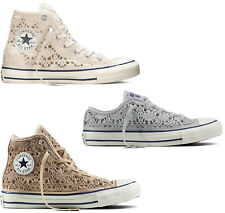 90c53af6995 SHOES CONVERSE ALL STAR CHUCK TAYLOR CROCHET HIGH WOMAN PURE HI SHOES OX