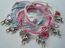 UNICORN FRIENDSHIP BRACELET BEST FRIEND FRIENDS GIFT IN BAG PARTY FAVOR *CHOOSE*