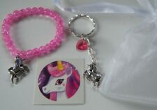 Unicorn Party Gift Bag Pre Filled Goody Bag Bracelet Tattoo Keyring Favor Prize