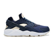 Nike Air Huarache Mid Navy Gold Men's Trainers UK-10.5 (318429-410)