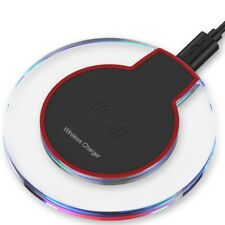 NEW Qi Wireless Charger Charging Dock PAD for iPhone X 8 Galaxy Note 8 S9 S9+ Kj