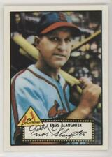 1983 Topps 1952 Reprint Series #65 Enos Slaughter St. Louis Cardinals Card