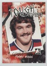 2005 In the Game Enforcers Tough Customers #TC-JM Jimmy Mann Winnipeg Jets Card