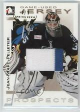 2004-05 In the Game Heroes and Prospects #GUJ-23 Jean-Marc Pelletier Hockey Card
