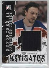 2013 In the Game Enforcers II #IM-20 Rocky Thompson Florida Panthers Hockey Card