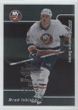 2001-02 In the Game Signature Series Chicago SportsFest #081 Brad Isbister Card