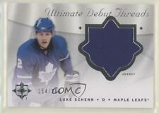 2008-09 Ultimate Collection Debut Threads #DT-SC Luke Schenn Toronto Maple Leafs