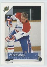 1991-92 Ultimate #5 Peter Forsberg Philadelphia Flyers Rookie Hockey Card