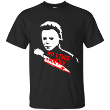 No lives matter t-shirt-spooky Halloween Michael Myers mask inspired horror tee