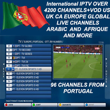 3,6,12 Months International Iptv Subscription Over 4700 Ch And Vod+Android Box