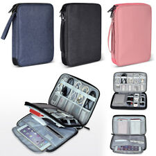 Travel Electronic Accessories Cable Organizer Bag USB Flash Drive storage Case