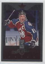 1995-96 Donruss Elite Die-Cut Uncut #16 Joe Sakic Colorado Avalanche Hockey Card