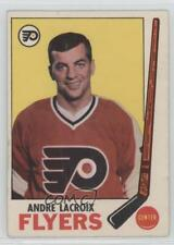 1969-70 O-Pee-Chee #98 Andre Lacroix Philadelphia Flyers Hockey Card