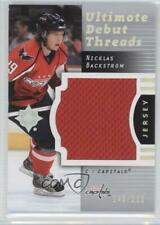 2007-08 Ultimate Collection Debut Threads #DT-BA Nicklas Backstrom Hockey Card