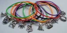 HALLOWEEN PARTY GIFTS PRIZES GUMMY BANDS BRACELETS TRICK OR TREAT 6 7 8 9 OR 10
