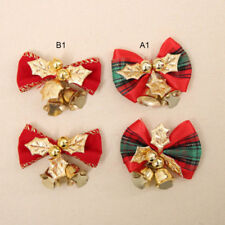 12x Christmas Tree Bow Decoration Baubles XMAS Party Garden Bows Ornament