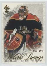 2001 Pacific Private Stock Gold #43 Roberto Luongo Florida Panthers Hockey Card