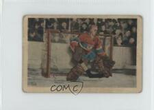 1952-53 Parkhurst #12 Gerry McNeil Montreal Canadiens Hockey Card