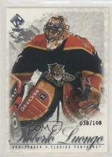 2001 Pacific Private Stock Silver 43 Roberto Luongo Florida Panthers Hockey Card