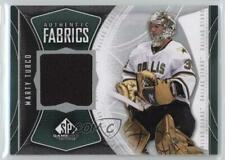 2009 SP Game Used Edition Authentic Fabrics #AF-MT Marty Turco Dallas Stars Card