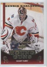 2010-11 Upper Deck UD Exclusives #209 Henrik Karlsson Calgary Flames Hockey Card