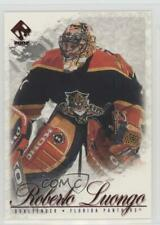 2001-02 Pacific Private Stock #43 Roberto Luongo Florida Panthers Hockey Card