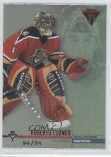 2001 Pacific Private Stock Titanium Red #61 Roberto Luongo Florida Panthers Card