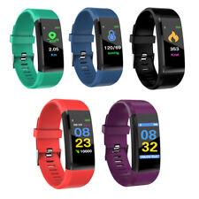 Color Screen Fitness Tracker Activity Smart Watch Heart Rate Blood Pressure