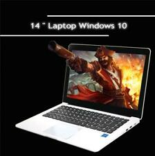HD 14 inch Laptop Notebook Computer Windows 10 Intel Quad Core 128GB Camera WiFi