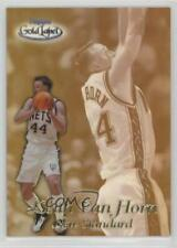 1999-00 Topps Gold Label New Standard Black #NS7 Keith Van Horn Jersey Nets Card