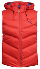 Puma Active Hooded Down Vest Womens Full Zip Padded Gilet Cayenne 834681 03 P
