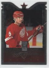 1995-96 Donruss Elite Die-Cut #2 Nicklas Lidstrom Detroit Red Wings Hockey Card