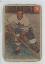 1954-55 Parkhurst #26.1 Leo Boivin (Base) Toronto Maple Leafs Hockey Card