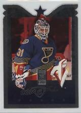 1995-96 Donruss Elite Die-Cut #42 Grant Fuhr St. Louis Blues Hockey Card